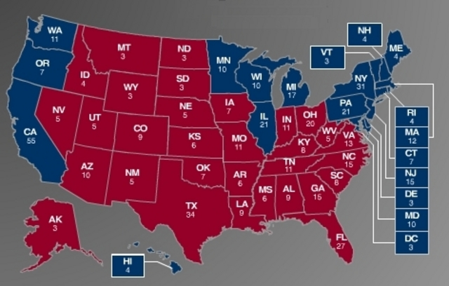 2004 electoral map | BW Writes