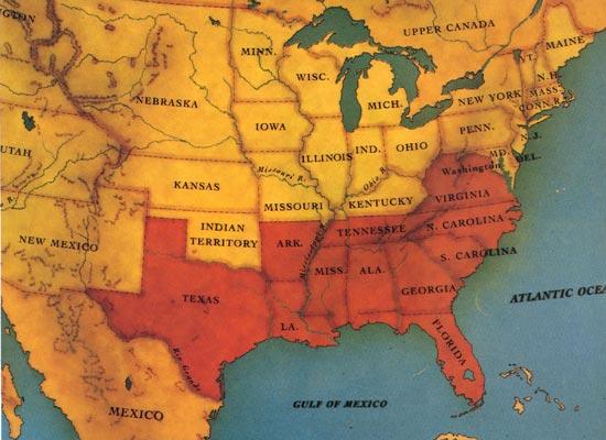 11 Confederate States Confederate states
